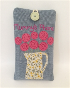 Picture of Jug of Roses Phone Case