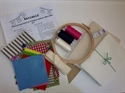 Picture of Personalised Bunting Freehand Machine Embroidery Kit