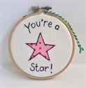 Picture of Mini Hoop - You're a Star!