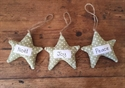 Picture of Star Christmas Decoration - Dotty