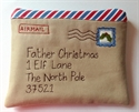 "Picture of ""Letters to Father Christmas"" Envelope"