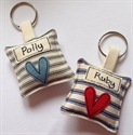 Picture of Personalised Heart Key Ring