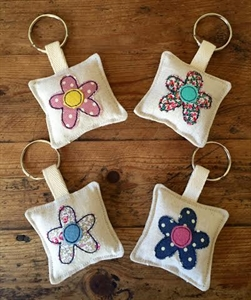Picture of Flower Keyring
