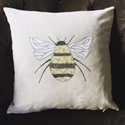 Picture of Liberty Bee Applique Cushion Cover