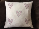 Picture of Liberty Hearts Applique Cushion Cover