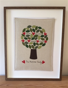 Picture of Framed Family Tree
