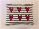 Picture of  Applique Hearts Pin Cushion - Pink Hearts
