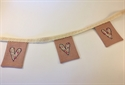 Picture of Linen Mini Bunting - Pinks