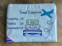 Picture of Travel Documents Bag - Small