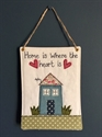 "Picture of ""Home Is Where The Heart Is"" Hanger"