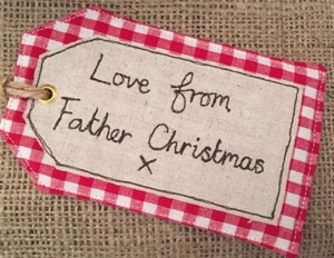 """Picture of """"Love From Father Christmas"""" Gift Tag"""